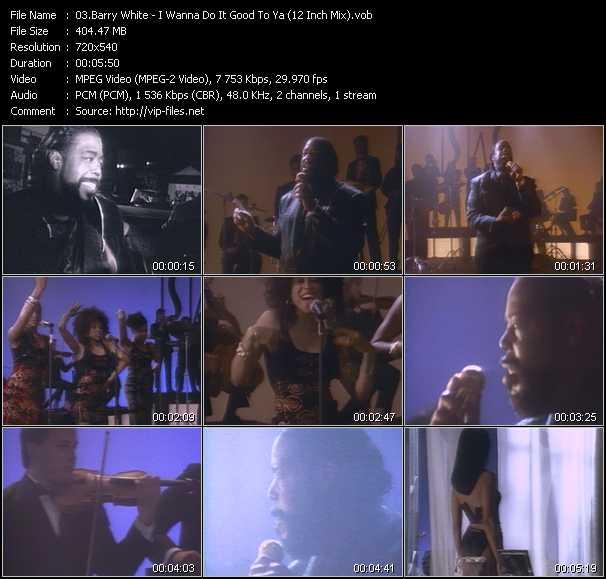 Barry White - I Wanna Do It Good To Ya (12 Inch Mix)