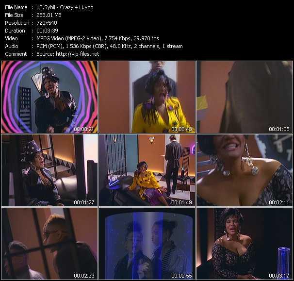Sybil Feat. Salt-N-Pepa - Crazy 4 U