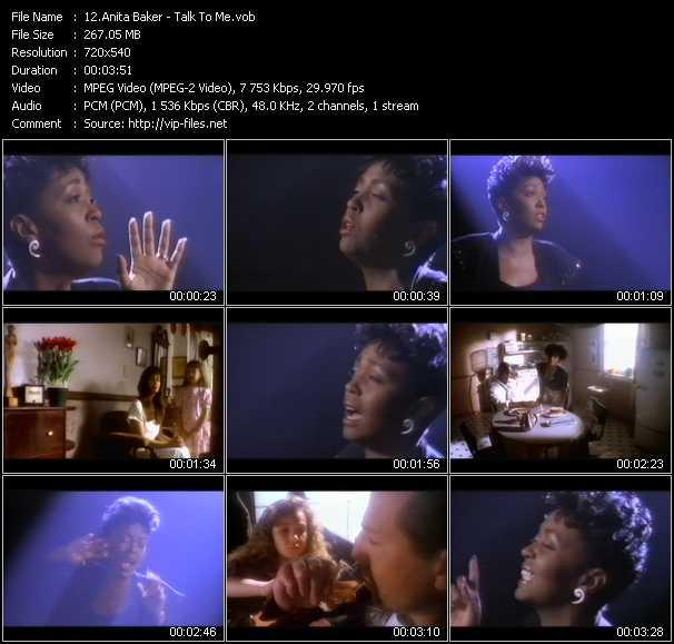 Anita Baker - Talk To Me