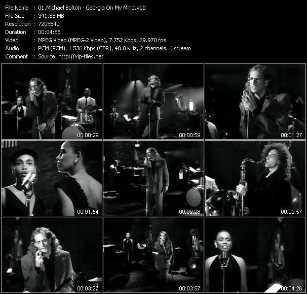 Michael Bolton Feat. Kenny G - Georgia On My Mind