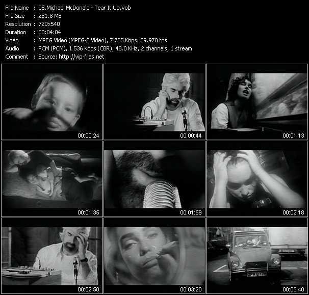 Michael McDonald - Tear It Up