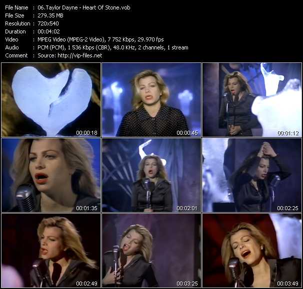 Taylor Dayne - Heart Of Stone