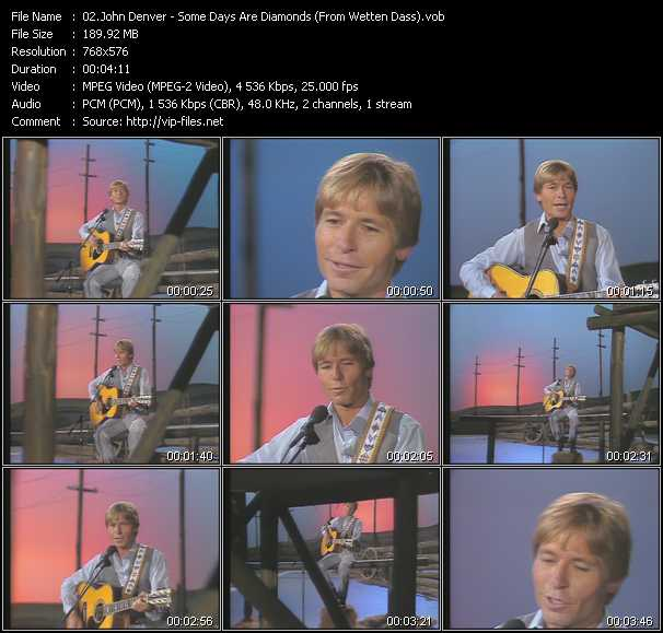John Denver - Some Days Are Diamonds (From Wetten Dass)