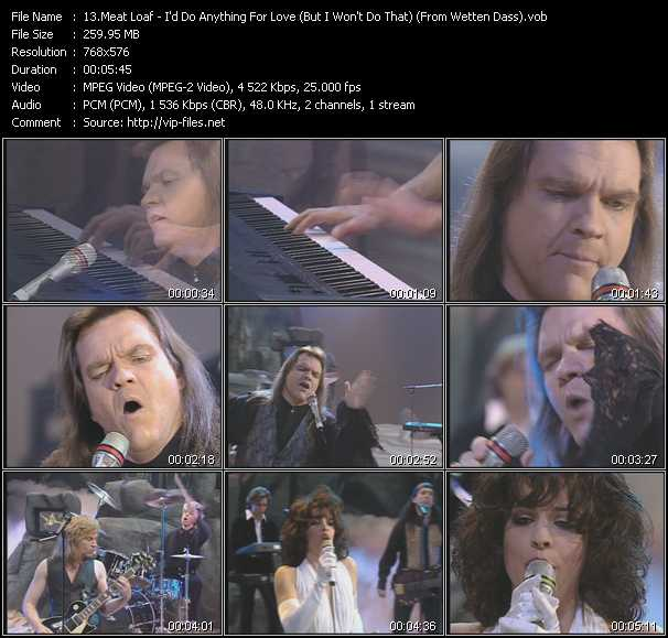 Meat Loaf - I'd Do Anything For Love (But I Won't Do That) (From Wetten Dass)