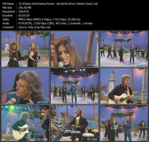 Al Bano And Romina Power - Na Na Na (From Wetten Dass)