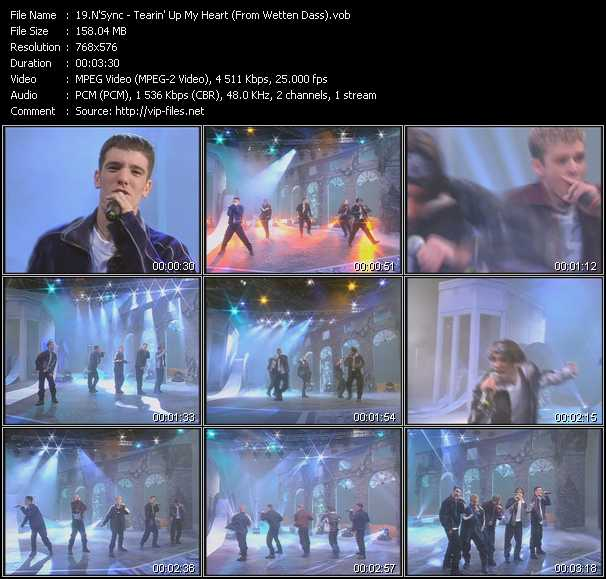 N'Sync - Tearin' Up My Heart (From Wetten Dass)