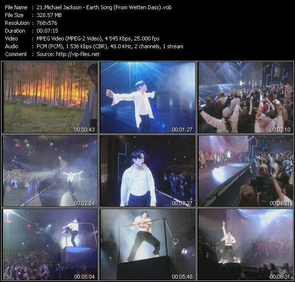 Michael Jackson - Earth Song (From Wetten Dass)