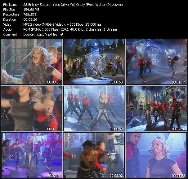 Britney Spears - (You Drive Me) Crazy (From Wetten Dass)