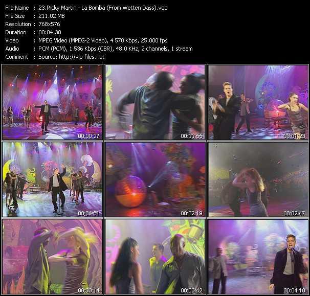 Ricky Martin - La Bomba (From Wetten Dass)