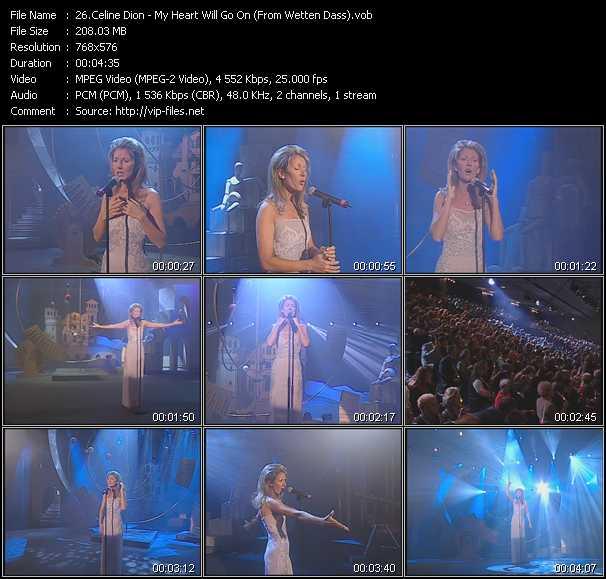 Celine Dion - My Heart Will Go On (From Wetten Dass)