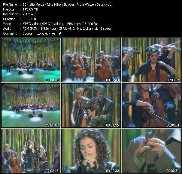 Katie Melua - Nine Million Bicycles (From Wetten Dass)