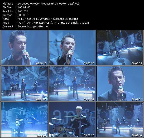 Depeche Mode - Precious (From Wetten Dass)