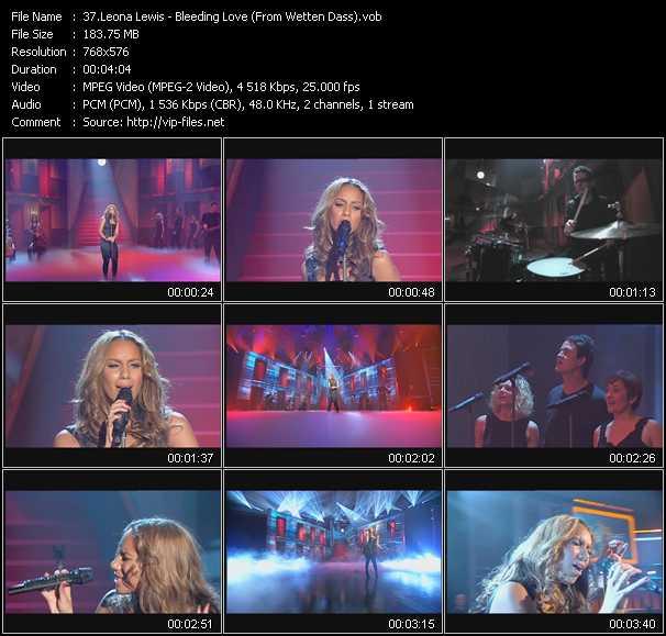 Leona Lewis - Bleeding Love (From Wetten Dass)