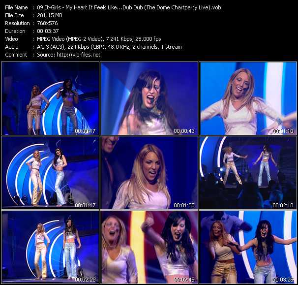 It-Girls - My Heart It Feels Like...Dub Dub (The Dome Chartparty Live)