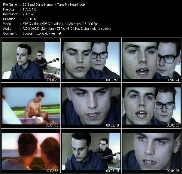 Band Ohne Namen - Take My Heart