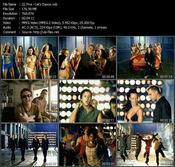 Five (5ive) - Let's Dance