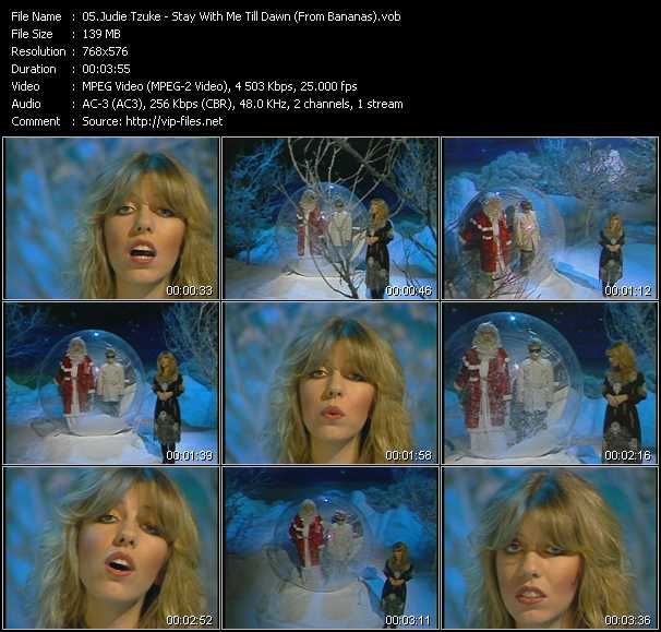 Judie Tzuke - Stay With Me Till Dawn (From Bananas)