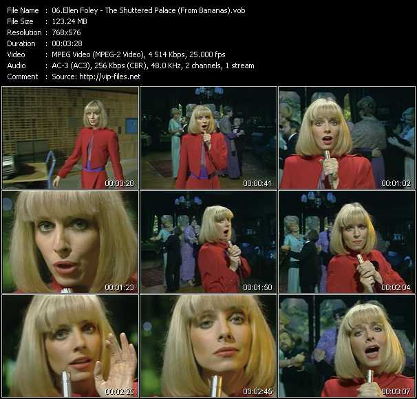Ellen Foley - The Shuttered Palace (From Bananas)