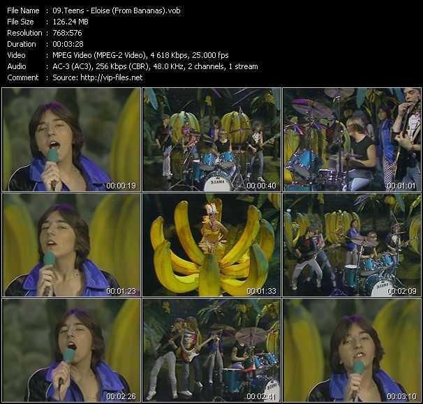 Teens - Eloise (From Bananas)
