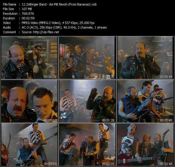 Zeltinger Band - Asi Mit Niwoh (From Bananas)