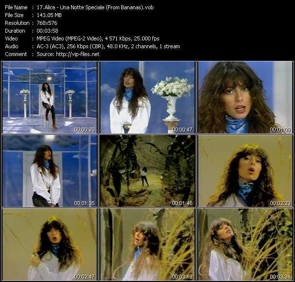 Alice - Una Notte Speciale (From Bananas)