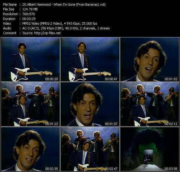 Albert Hammond - When I'm Gone (From Bananas)