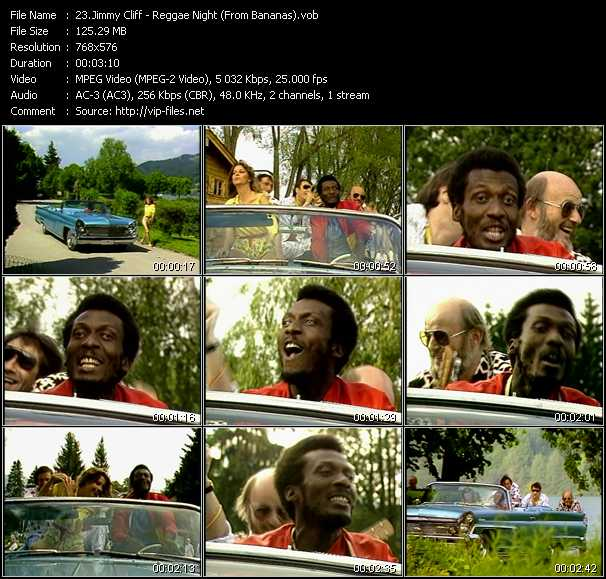 Jimmy Cliff - Reggae Night (From Bananas)
