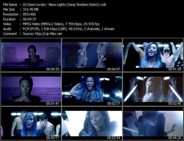 Demi Lovato - Neon Lights (Jump Smokers Remix)