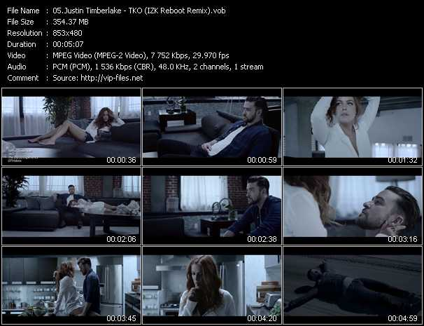 Justin Timberlake - TKO (IZK Reboot Remix)