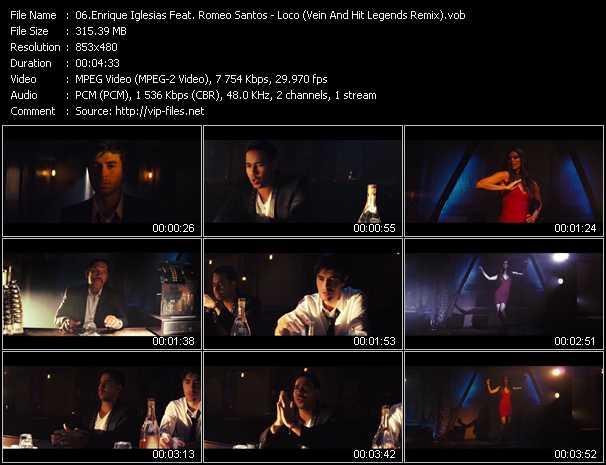 Enrique Iglesias Feat. Romeo Santos - Loco (Vein And Hit Legends Remix)