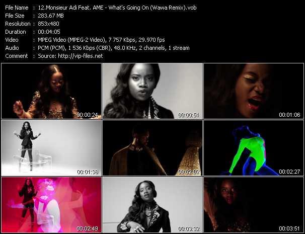 Monsieur Adi Feat. A.M.E. - What's Going On? (Wawa Remix)