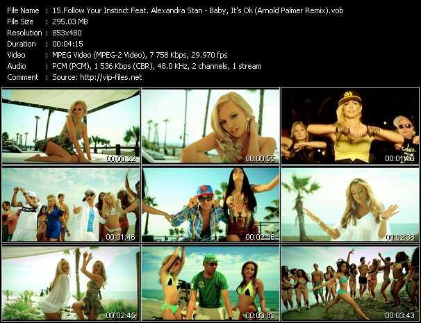 Follow Your Instinct Feat. Alexandra Stan - Baby, It's Ok (Arnold Palmer Remix)