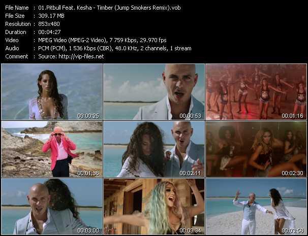 Pitbull Feat. Kesha - Timber (Jump Smokers Remix)