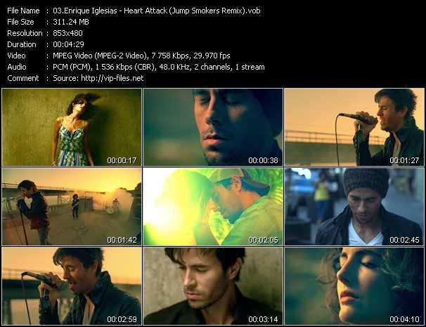 Enrique Iglesias - Heart Attack (Jump Smokers Remix)
