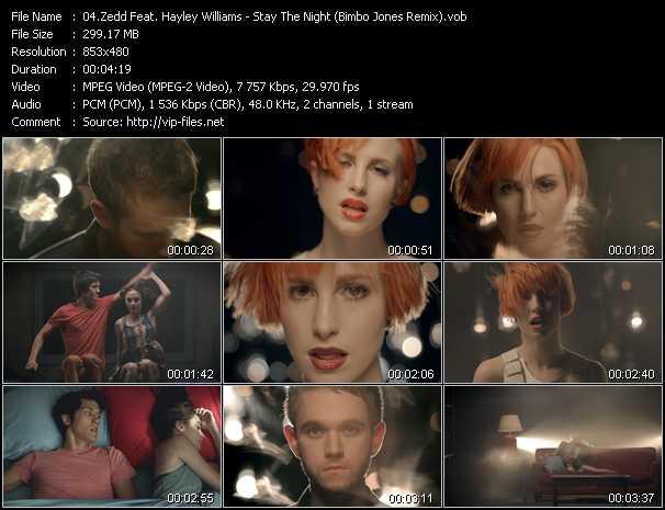 Zedd Feat. Hayley Williams - Stay The Night (Bimbo Jones Remix)