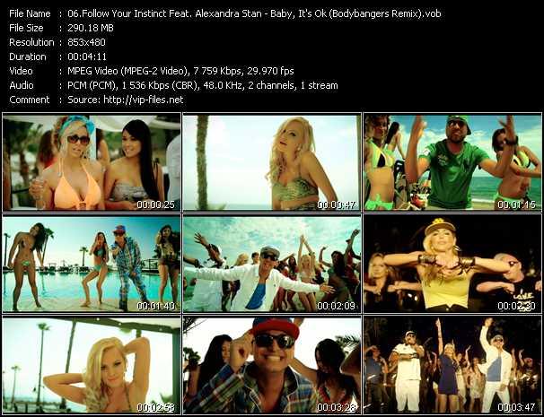 Follow Your Instinct Feat. Alexandra Stan - Baby, It's Ok (Bodybangers Remix)