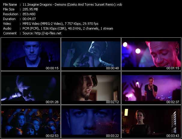 Imagine Dragons - Demons (Dzeko And Torres Sunset Remix)