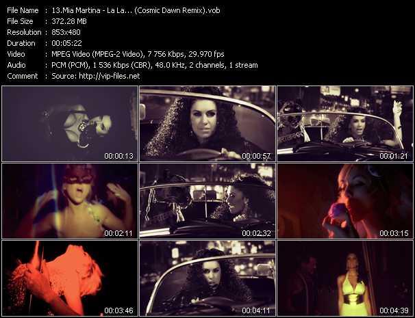 Mia Martina - La La... (Cosmic Dawn Remix)