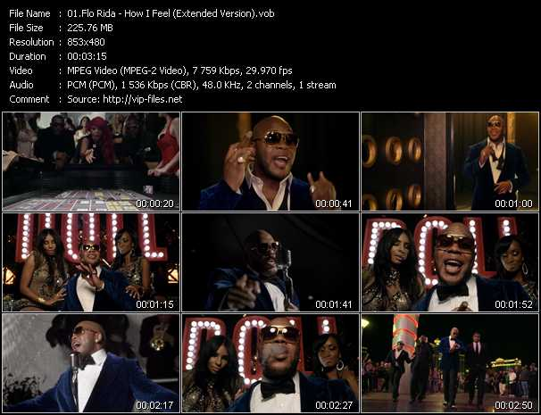 Flo Rida - How I Feel (Extended Version)