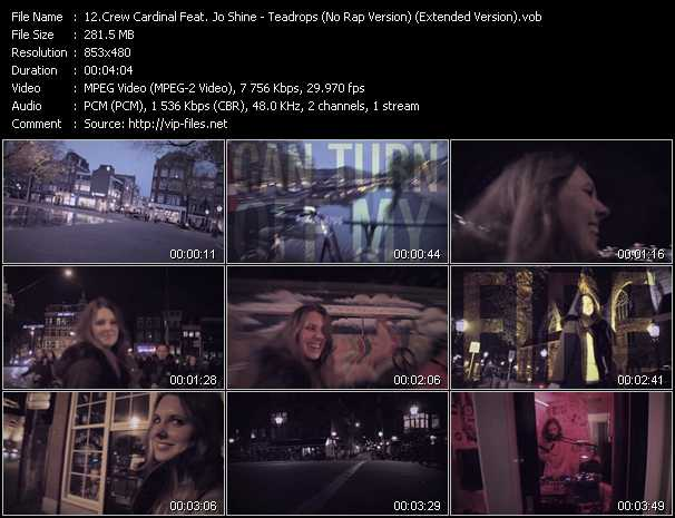 Crew Cardinal Feat. Jo Shine - Teadrops (No Rap Version) (Extended Version)