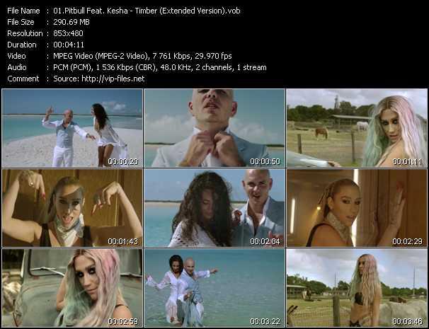 Pitbull Feat. Kesha - Timber (Extended Version)