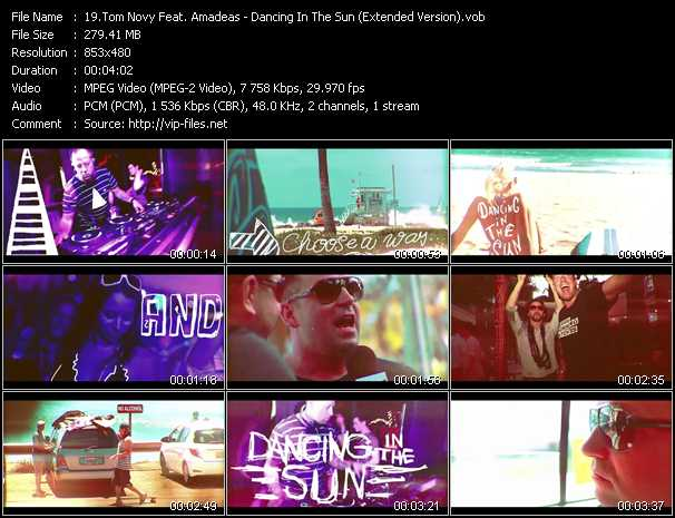 Tom Novy Feat. Amadeas - Dancing In The Sun (Extended Version)