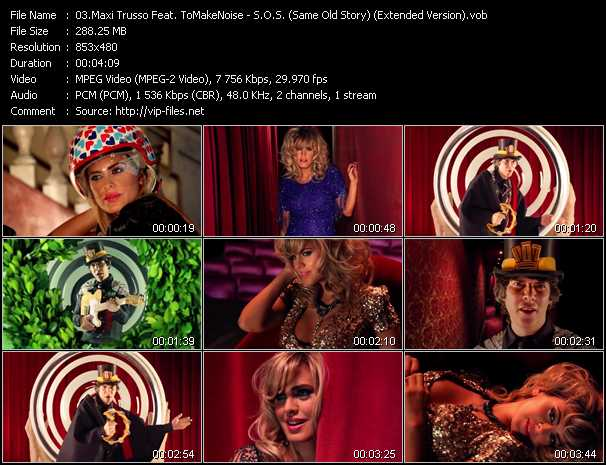 Maxi Trusso Feat. ToMakeNoise - S.O.S. (Same Old Story) (Extended Version)