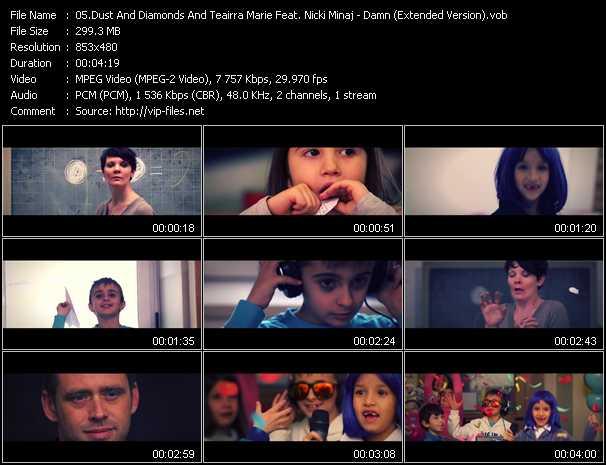 Dust And Diamonds And Teairra Marie Feat. Nicki Minaj - Damn (Extended Version)
