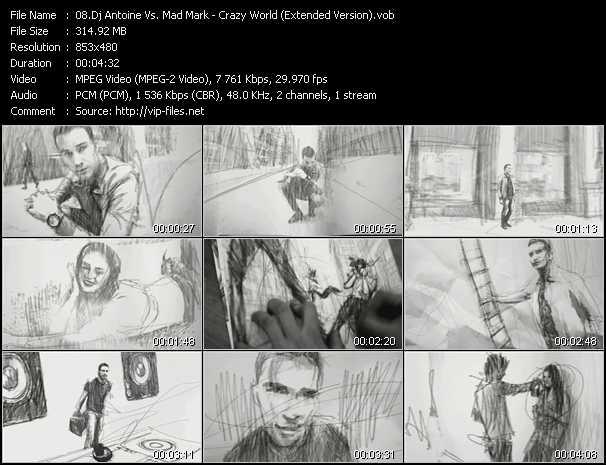 Dj Antoine Vs. Mad Mark - Crazy World (Extended Version)