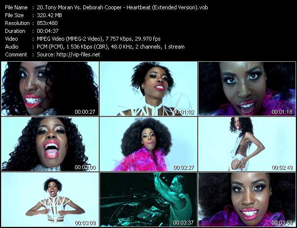 Tony Moran Vs. Deborah Cooper - Heartbeat (Extended Version)