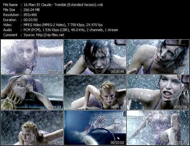 Marc Et Claude - Tremble (Extended Version)