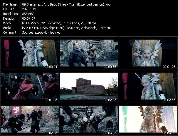 Blasterjaxx And Badd Dimes - Titan (Extended Version)