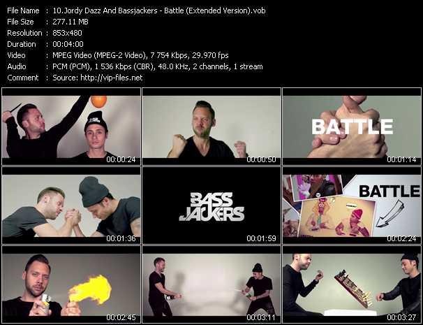 Jordy Dazz And Bassjackers - Battle (Extended Version)
