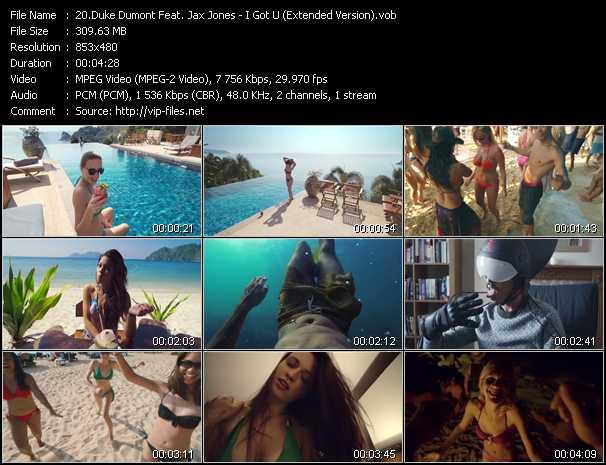 Duke Dumont Feat. Jax Jones - I Got U (Extended Version)